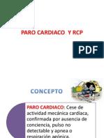 Paro Cardiaco y Rcp
