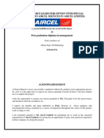 Project Report Aircel