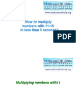 Vedic Maths Multiplying Numbers by 1119 in Less Than Five Seconds 7972