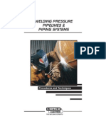 Welding Pressure Pipelines & Piping Systems