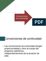 CONVENCIONES DE CONTINUIDAD
