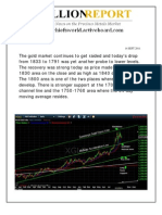 Gold and Silver Technical Report 14 Sept 2011