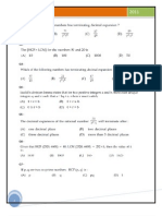 10 Mathematics Real Numbers MCQ
