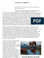 David Adam Stott, 'Would An Independent West Papua Be A Failing State?,' The Asia-Pacific Journal Vol 9, Issue 37 No 1, September 12, 2011.