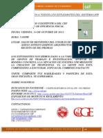 Convocatoria Abierta - CEF