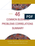 46 Common Business Problems & How to Solve Them Using The Teachings of The Diamond Cutter