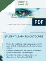 Week 10 - Method of System Development