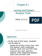 Week 11 & 12 - Tools for System Planning and Analysis