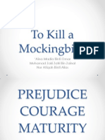 courage theme in to kill a mockingbird