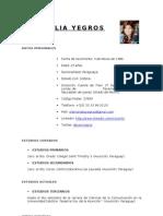 Ceci Yegros - Curriculum Vitae