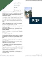 City of Irvine Website - Bikeways Additional Info