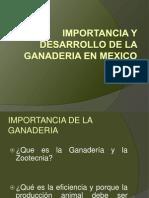 1.- Import an CIA de La Ganaderia