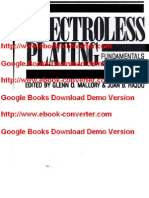 Electroless Plating- Fundamentals and Applications by Glenn O. Mallory- Juan B. Hajdu- American Electroplaters and Surface Finishers Society