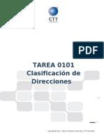 Tarea0101 - Clasificacion de Direcciones