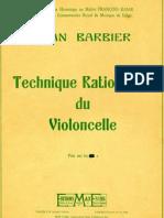 IMSLP60948-PMLP124762-Barbier - Technique Rationnelle for Cello Scales and Arpeggios