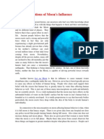 Facts About the Planet Moon