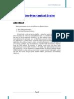 Electro Hyraulic Brake