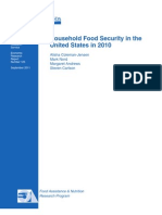 Household Food Security in the United States 2010