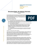 Structural Steel Fact Sheet July 2008