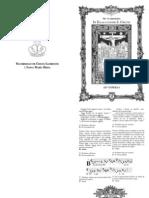 I y II Vísperas de la Exaltación de la Santa Cruz. 14. de septiembre. Forma Extraordinaria del Rito ROmano