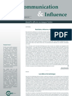 Communication&Influence Septembre2011