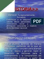 Historia, enfoque y propósitos