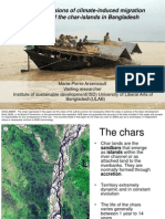 Social Dimensions  of Climate-Induced Migration