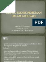 Teknik-teknik Pemetaan Dalam Geografi -  Nota Senior