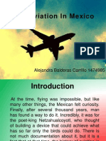 The Aviation in Mexico
