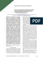 Huracanes en el estado de Colima 1573-1999