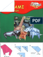 Creative Origami Instructions - African Animals