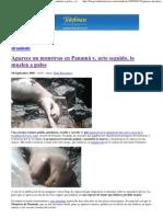2009-09-18 Monstruo en Panamá