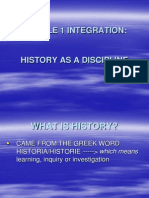 MODULE 1 Integration PPT..Ppt English History as Discipline