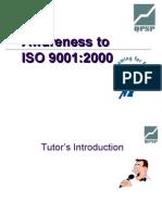 ISO 9001:2000 Quality Productivity Society Pakistan