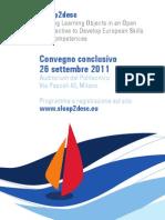 Invito convegno conclusivo Sloop2desc