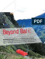 Beyond Bali - Adventure Travel Magazine - Sept2011