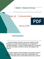 Advantages of Matrix Over Cycloconverters