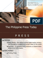 The Philippine Press Today