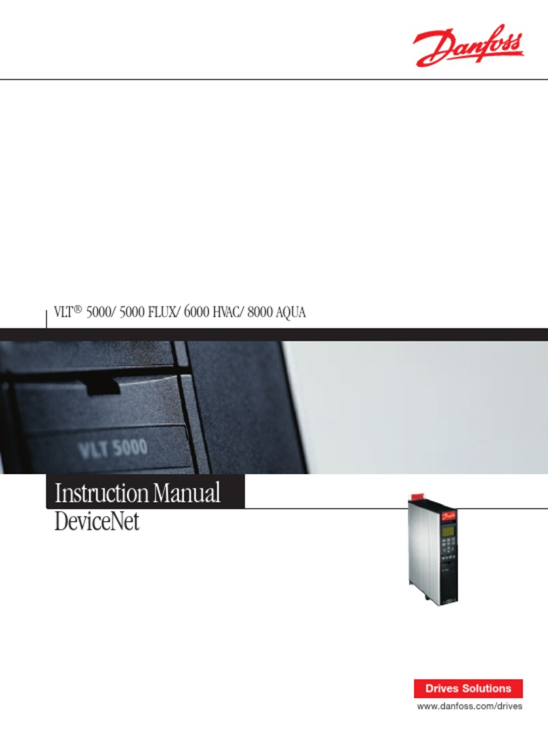 Vlt 5000 Profibus Manual Danfoss Wiring Diagram Aqua