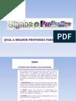 signo e profissão