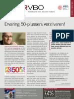 Ervaring 50-plussers verzilveren!, VBO Infor 27, 15 september 2011