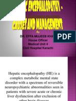 EFFA PRESENTATNhepatic Encephalopathy Ppt