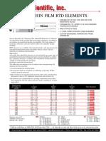RTD Sensor Cientific Inc