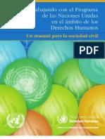 Manual Para La Sociedad Civil sobre Derechos Humanos