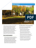Energy & Environment Policy Brief