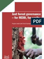 FGLG (2011) Just Forest Governance - For REDD, For Sanity