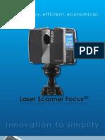 TechSheet_Laser Scanner Focus3D