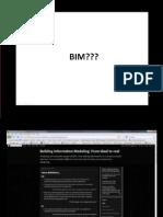 Presentation over BIM