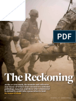 """""""The Reckoning,"""" a National Journal article by James Kitfield"""