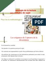 AP 1 méthodologie de la lecture des intitulés de sujet